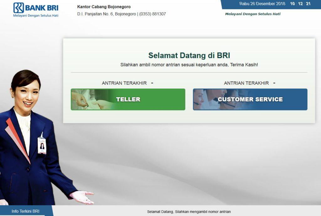 Aplikasi Antrian Berbasis Web Tiket