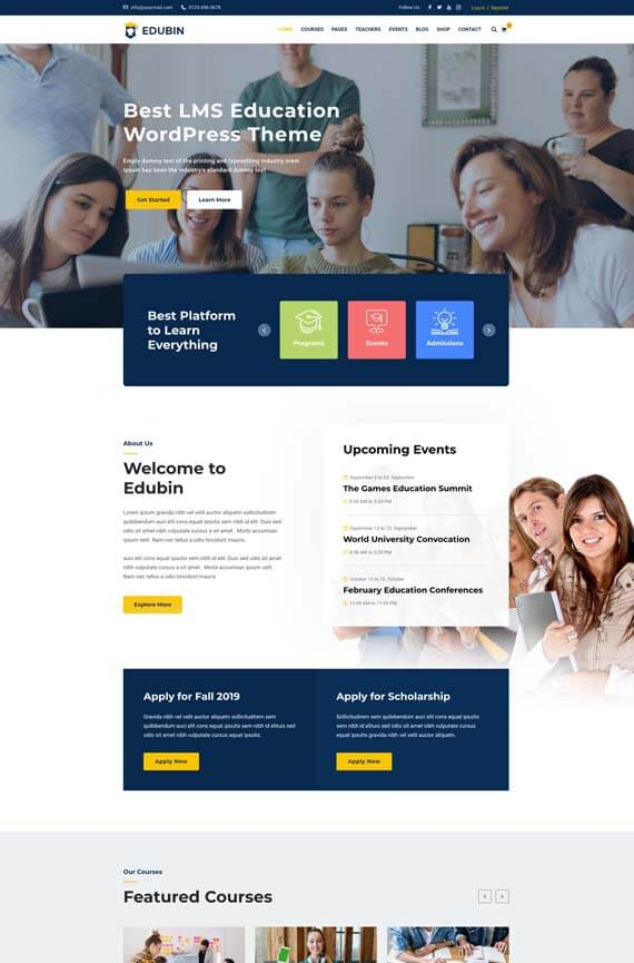 Website Sekolah dengan WordPress